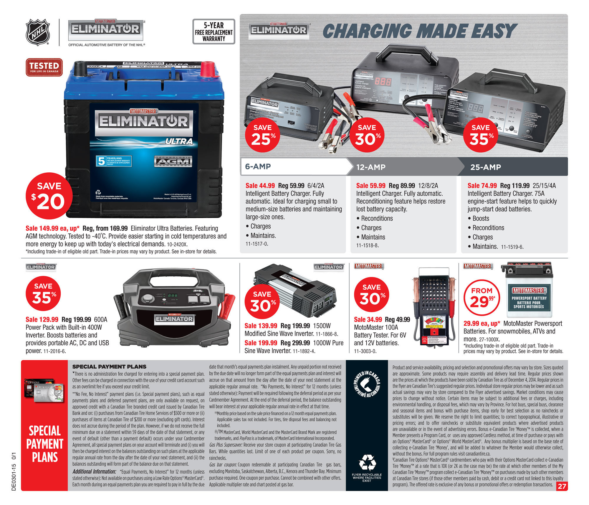 motomaster eliminator intelligent battery charger 12 8 2a manual