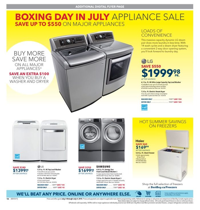 Best Buy Weekly Flyer - Weekly - Shape Up for Summer - Jul 3