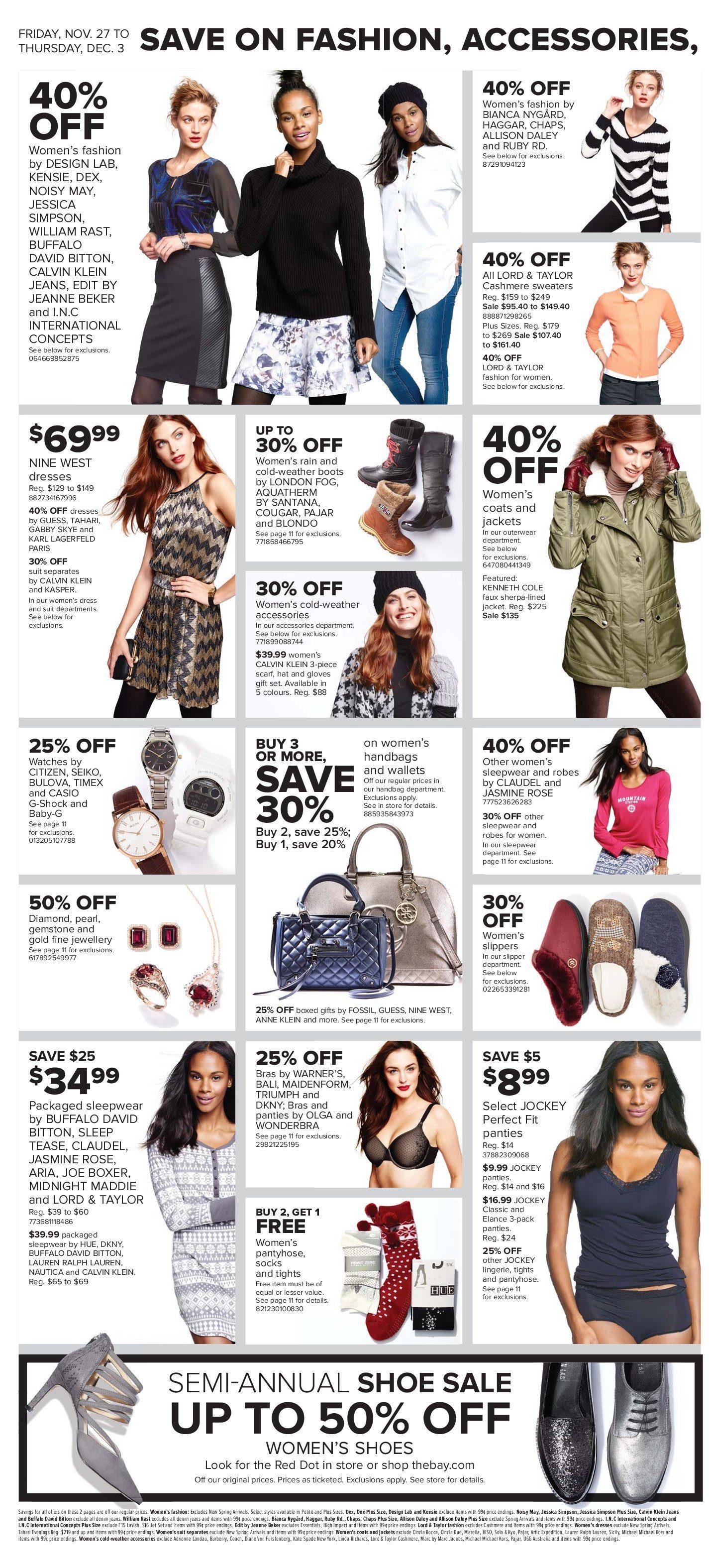 dd614f282d The Bay Weekly Flyer - Weekly - Black Friday Weekend Sale - Nov 27 – Dec 3  - RedFlagDeals.com
