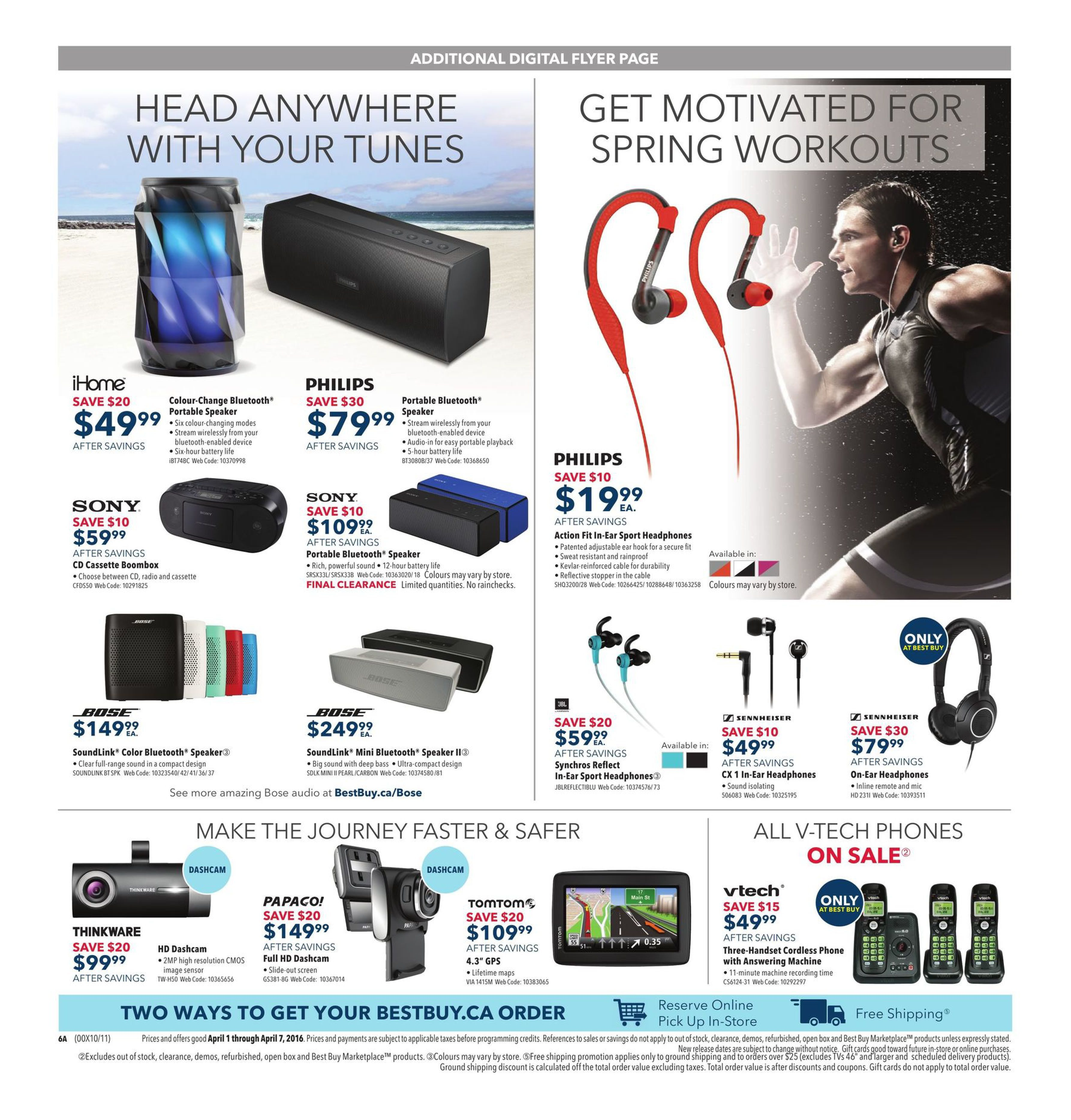 Best Buy Weekly Flyer - Weekly - A Galaxy of Home Theatre