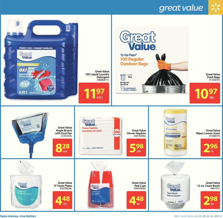 Walmart Weekly Flyer Long Weekend Starts Here May 19 Gb Stroller Majik Black 25