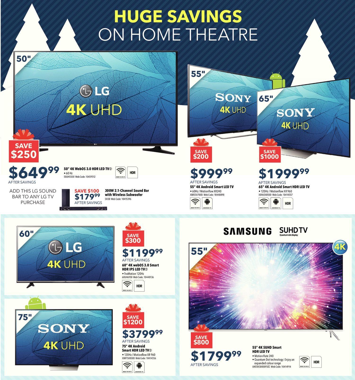 Best Buy Weekly Flyer Weekly Black Friday Sale Nov 25 Dec  # Sous Tv En Boi