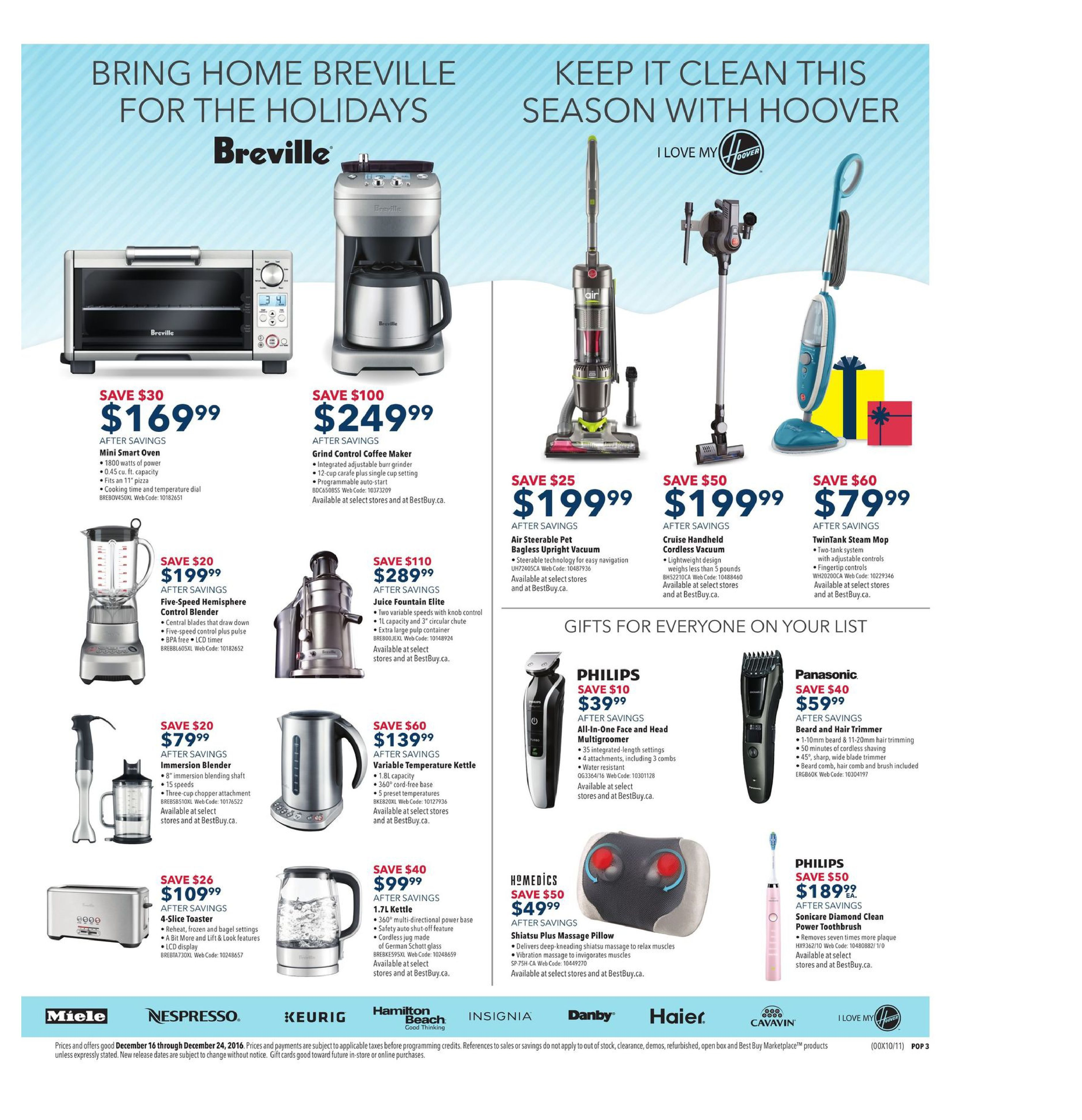 Best Buy Weekly Flyer Wrap Up Hot Tech Dec 16 24 The Imageup To 100w Inverter 12 V 220v Circuit Homepage