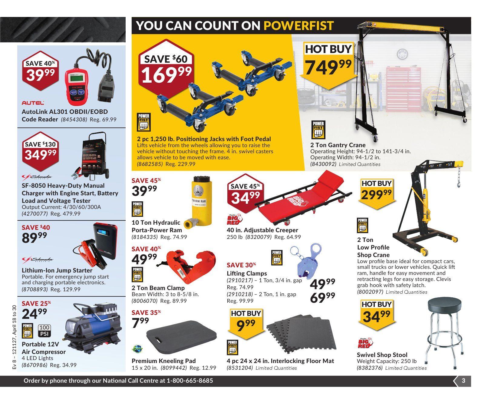 Princess Auto Weekly Flyer Great Garages Start Here Apr 18 30 Barrel Swivel With Interlock Snap Pioneer No 5 7