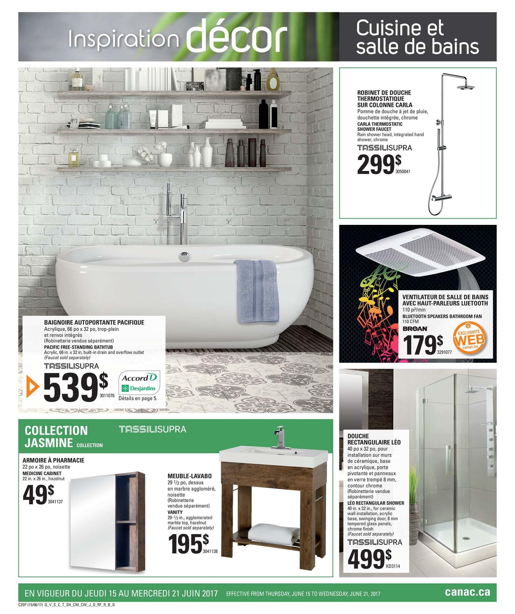 Canac Weekly Flyer Kitchen And Bathroom Jun 15 21