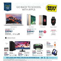 Best Buy Flyer Roundup: $50 Off Apple Watch Series 2, Sony