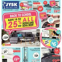 - Weekly - Back to School Flyer