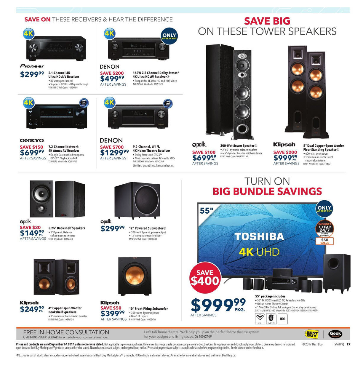 Best Buy Weekly Flyer Weekly Labour Day Sale Sep 1 7  # Sous Tv En Boi