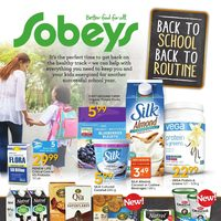 Sobeys - Back To School, Back To Routine Flyer