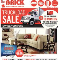 The Brick - Truckload Sale Flyer