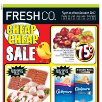 Fresh Co - Weekly Specials - Cheap Cheap Sale Flyer