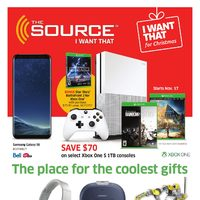 The Source - 2 Weeks of Savings - The Place for The Coolest Gifts Flyer
