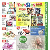 Toys R Us - 10 Day Event - Grand Event Flyer