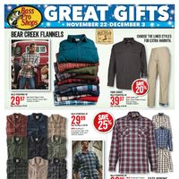 Bass Pro Shops - Vaughan Location Only - Great Gifts Flyer