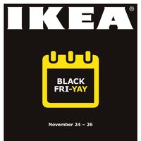 IKEA - Black-Fri-Yay Flyer