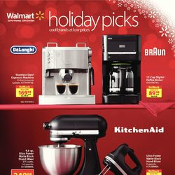 Walmart - Holiday Picks Flyer