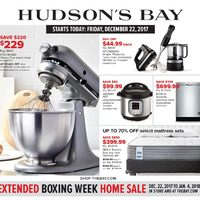 - Extended Boxing Week Home Sale Flyer