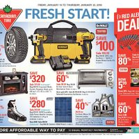 Canadian Tire - Weekly - Fresh Start! Flyer
