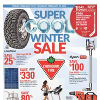 Canadian Tire - Weekly - Super Cool Winter Sale Flyer