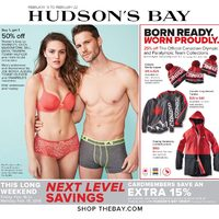 The Bay - Weekly - This Long Weekend: Next Level Savings Flyer