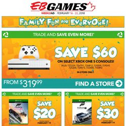 EB Games - Weekly - Family Fun for Everyone! Flyer