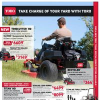 TORO - Take Charge of Your Yard Flyer