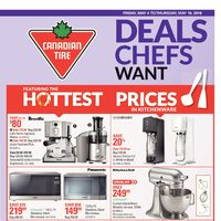 Canadian Tire - Weekly - Deals Chef Want & Happy Spring! Flyer