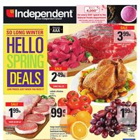 Your Independent Grocer - Weekly - Hello Spring Deals Flyer