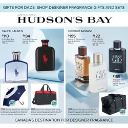 The Bay - Gifts For Dads - Shop Designer Fragrance Gifts & Sets Flyer
