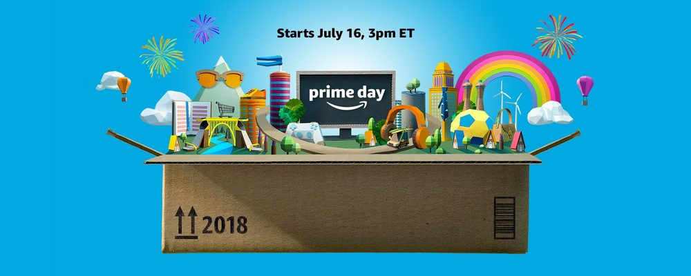 Amazon Prime Day 2018 Officially Starts Monday, July 16