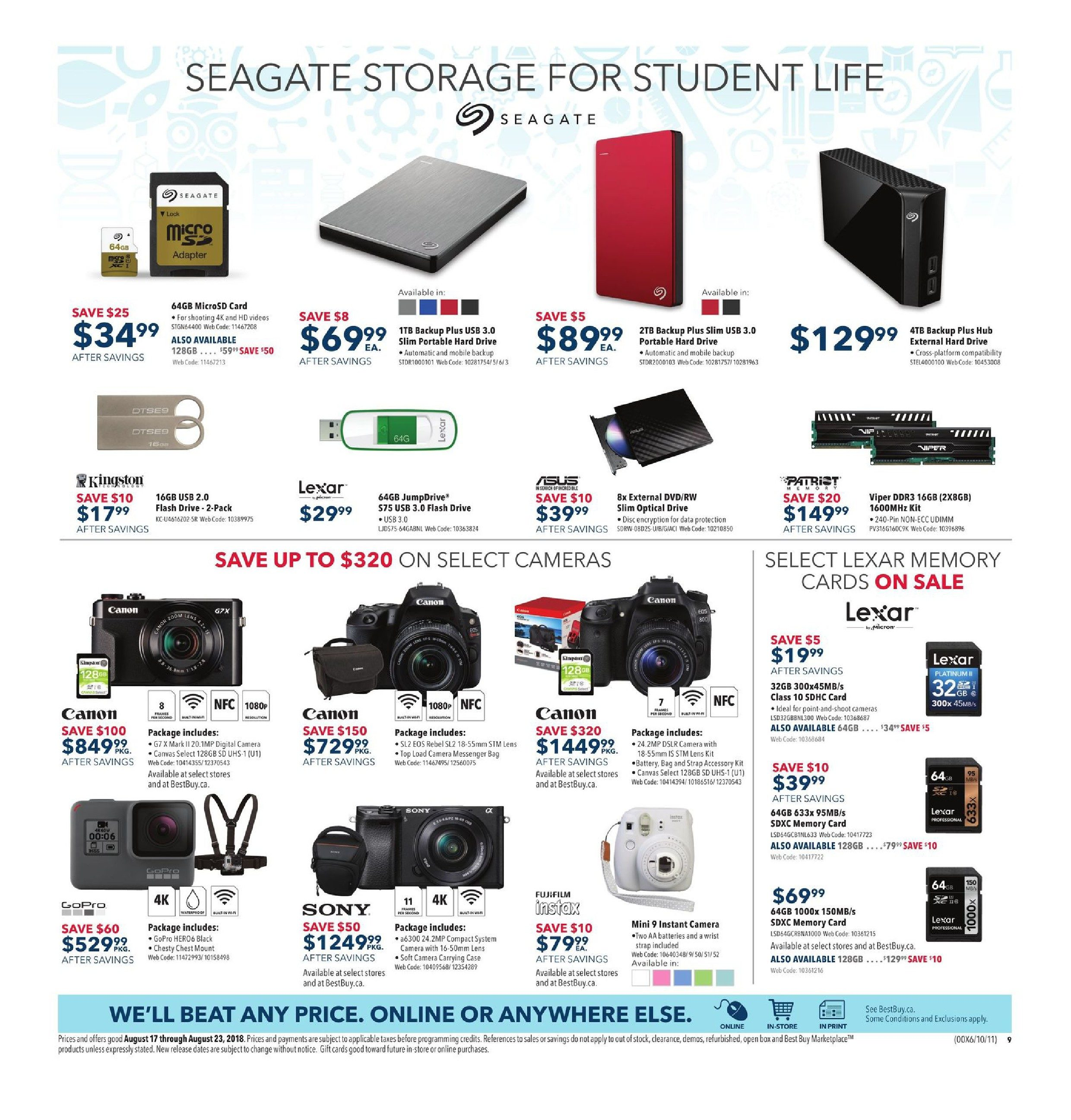 Best Buy Weekly Flyer - Weekly - HP Days On Now - Aug 17