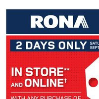 Rona - Home & Garden Flyer