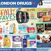 London Drugs - 6 Days of Savings - Fall Faves Flyer