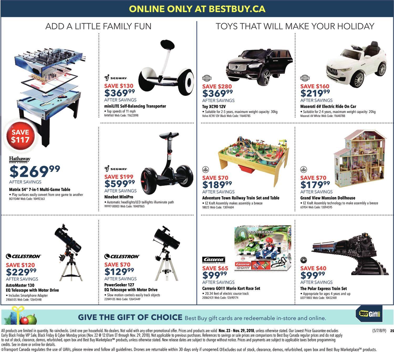 Best Buy Weekly Flyer Black Friday Sale Nov 23 29 Electronic Door Lock Circuit Led Board For Cinema Advertising