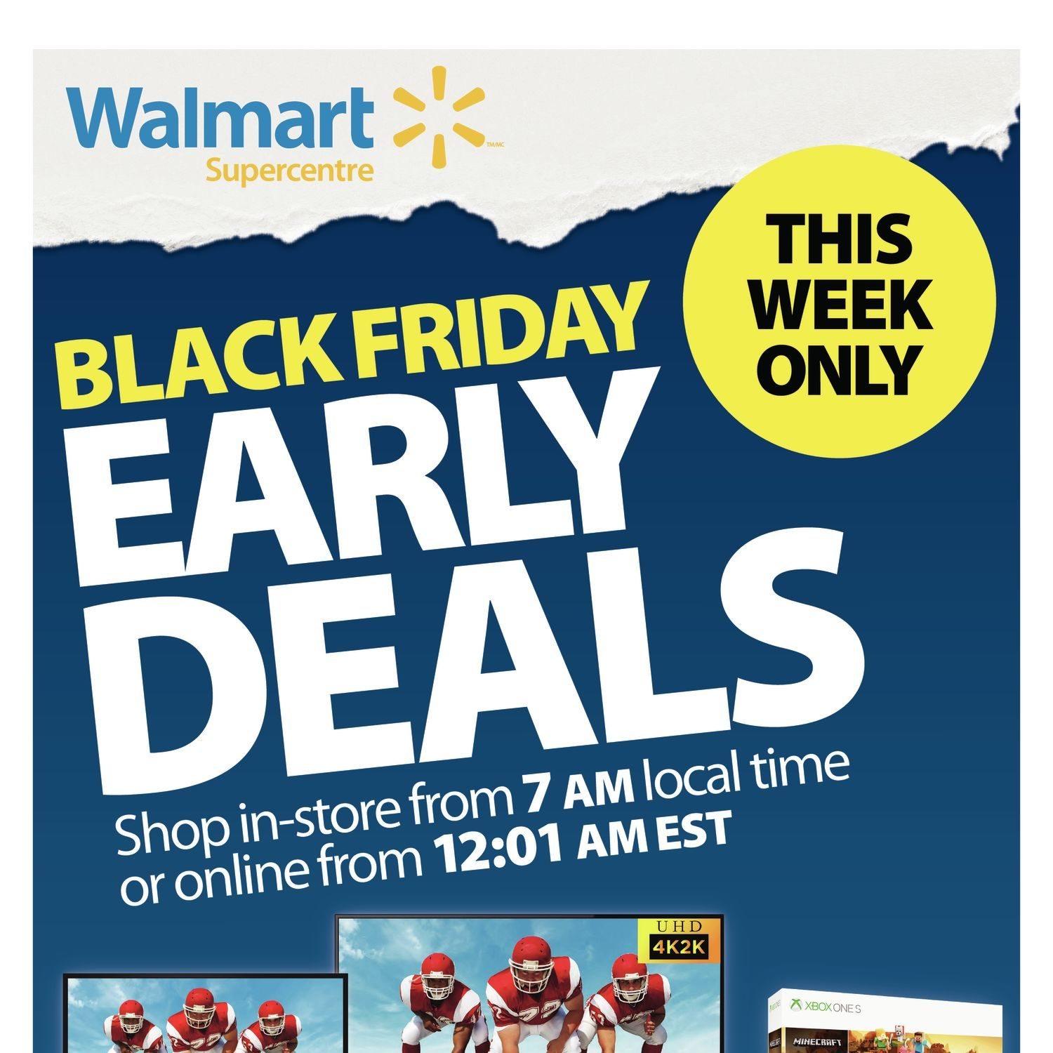 23624e7c7aa Walmart Weekly Flyer - Black Friday Early Deals - Nov 15 – 21 -  RedFlagDeals.com