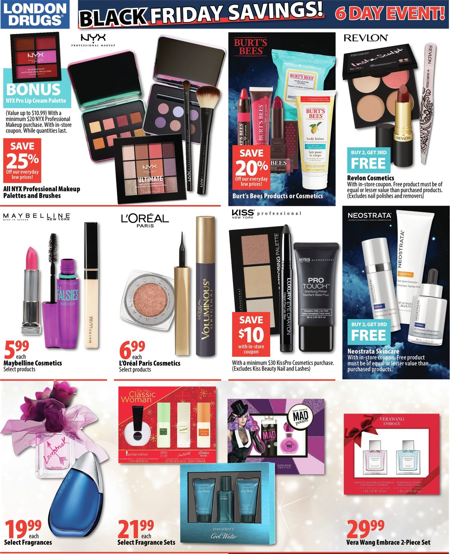 London Drugs Weekly Flyer - Black Friday 6 Day Event! - Nov
