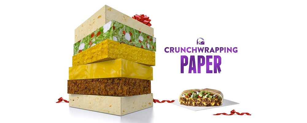 Taco Bell Canada Releases New CrunchWrapping Gift Wrap