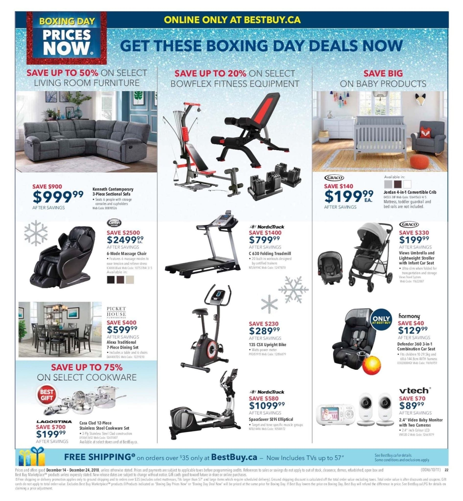 1113cb9c927 Best Buy Weekly Flyer - Weekly - Boxing Day Prices Now - Dec 14 – 24 -  RedFlagDeals.com