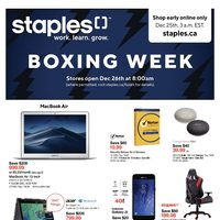 Staples Boxing Week 2018: Seagate 4TB Portable Drive $90