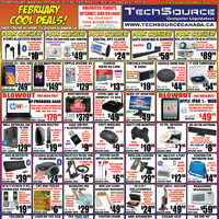 Tech Source - February Cool Deals! Flyer