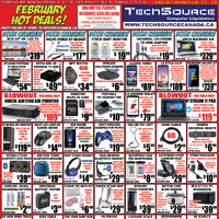 Tech Source - February Hot Deals! Flyer