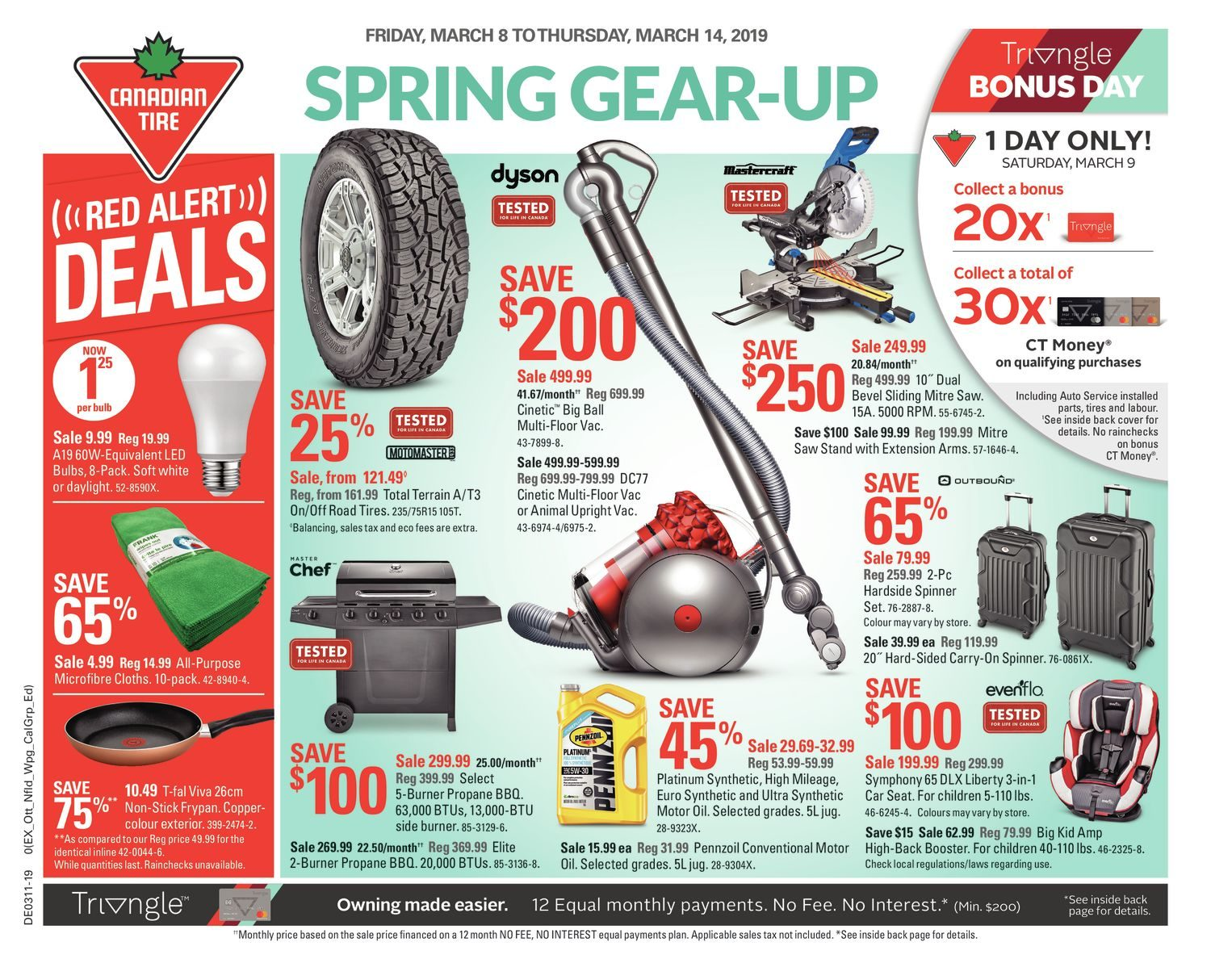 Canadian Tire Weekly Flyer Weekly Spring Gear Up Mar 8