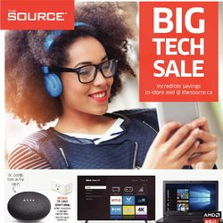 The Source - 2 Weeks of Savings - Big Tech Sale Flyer