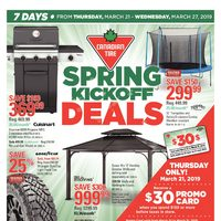Canadian Tire - 7 Days of Savings - Spring Kickoff Deals Flyer