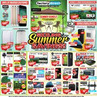 Factory Direct - Sizzling Summer Savings! Flyer