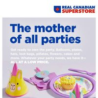 Real Canadian Superstore - Party Book Flyer