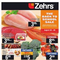 Zehrs - Weekly - The Back To School Sale Flyer