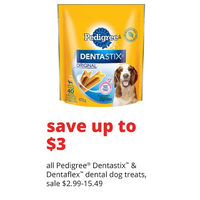 All Pedigree Dentastix & Dentaflex Dental Dog Treats