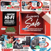 Centre HIFI - Weekly - Anniversary Sale Flyer