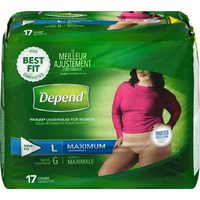 Depend Protective Underwear or Poise Bladder Control Pads